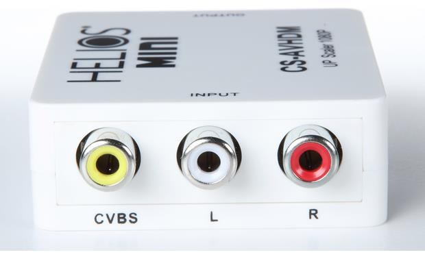 Metra ethereal CS-AVHDM Inputs: Composite video + stereo audio