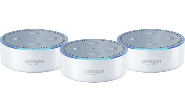 Amazon Echo Dot 3-Pack Front