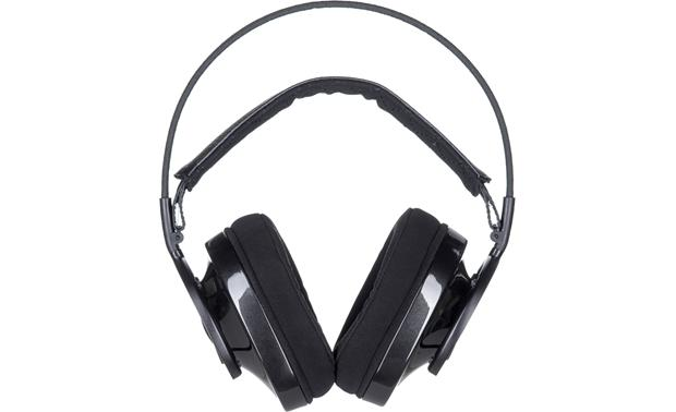 AudioQuest NightOwl Carbon Shown with replacement cloth-covered earpads (included)