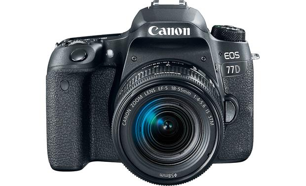 Canon EOS 77D Kit Front, straight-on