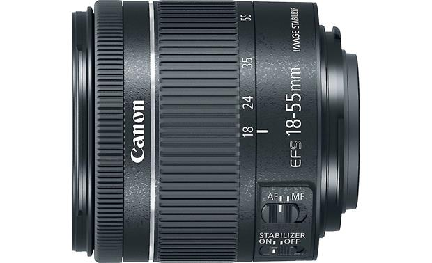 Canon EF-S 18-55mm f/4-5.6 IS STM Side