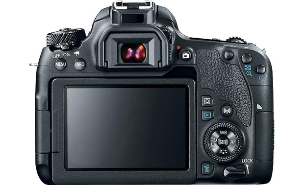 Canon EOS 77D (no lens included) Back