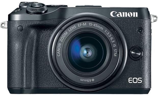 Canon EOS M6 Video Creator Kit Front, straight-on