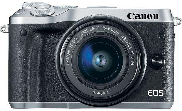 Canon EOS M6 Kit Front, straight-on