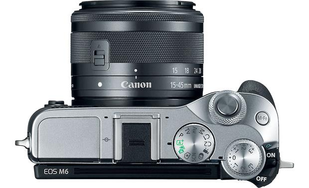 Canon EOS M6 Kit Top