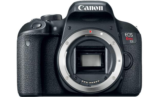 Canon EOS Rebel T7i (no lens included) Front