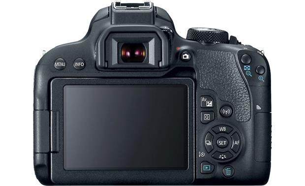 Canon EOS Rebel T7i Kit Back