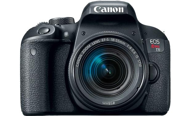 Canon EOS Rebel T7i Kit Front, straight-on