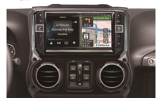 Alpine X109-WRA In-Dash Restyle System Other