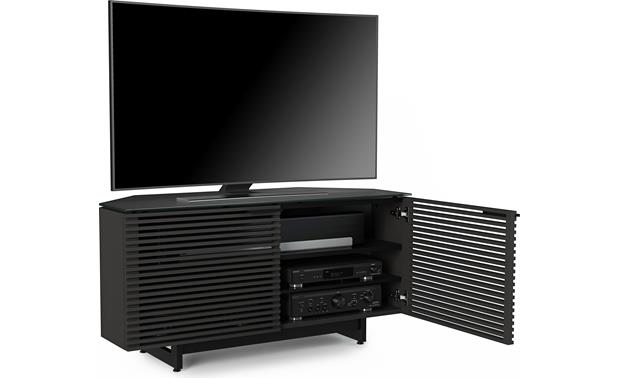 BDI Corridor 8175 Charcoal Stained Ash (TV and components not included)