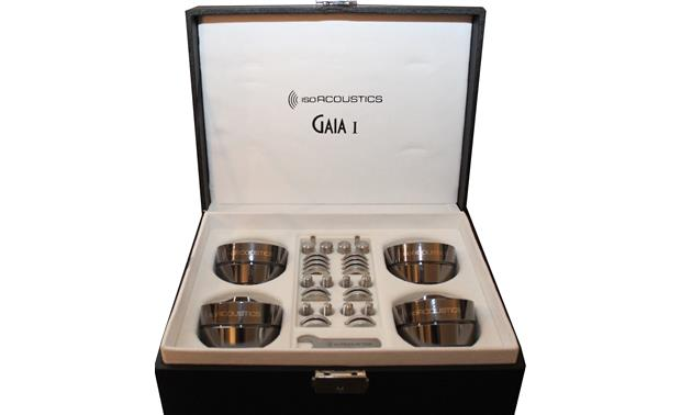 IsoAcoustics GAIA I Shown in packaging