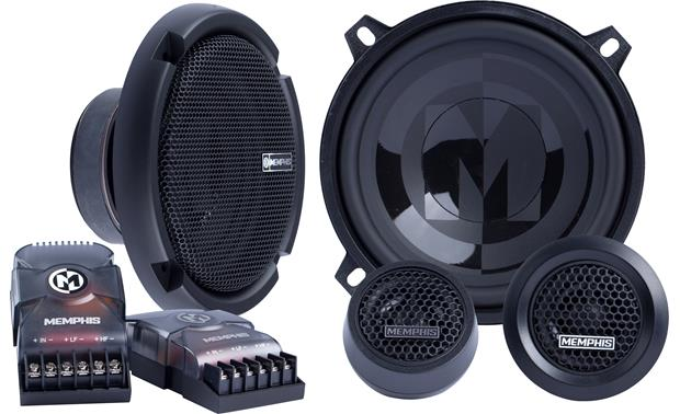 Memphis Audio PRX50C Improve the soundstage in your car with this component system.