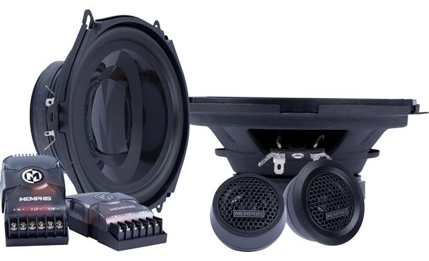 Memphis Audio PRX570C Improve the soundstage in your car with this component system.