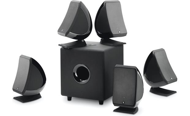 Focal Sib 5.1 Pack Includes 5 compact satellites and a powered sub