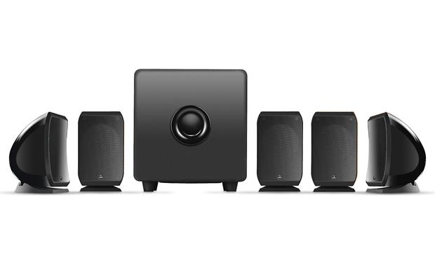 Focal Sib 5.1 Pack Includes 5 compact Sib satellites and Cub3 powered subwoofer