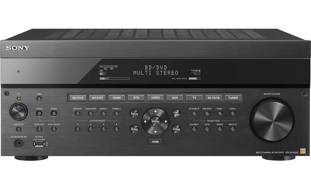 Sony STR-ZA1100ES Front-panel connections and controls