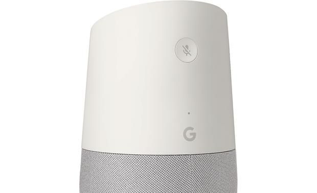 Google Home An integrated mute button ensures privacy when you want it