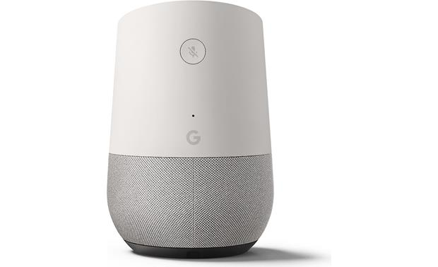 Google Home The removable base can be swapped out with a colorful one (sold separately)