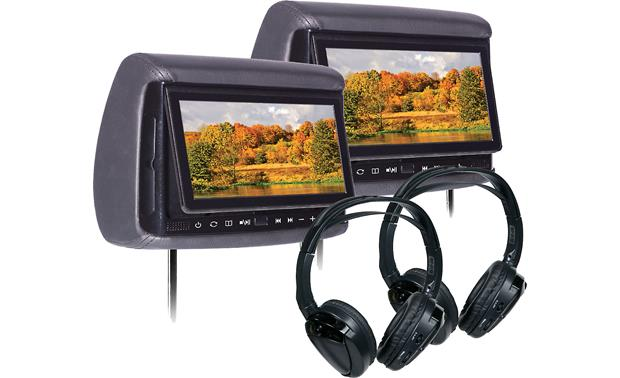 Concept BSD705PKG  Bundle Equip your backseat for total entertainment with two 7
