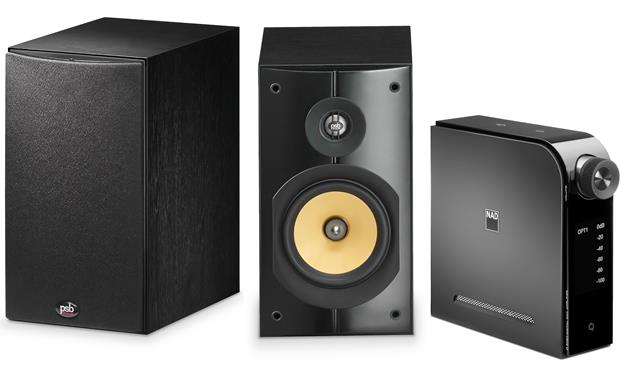 NAD D 3020/PSB Imagine XB Bundle Compact stereo system with