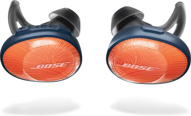 Bose® SoundSport® Free wireless headphones Right-ear controls for music and calls
