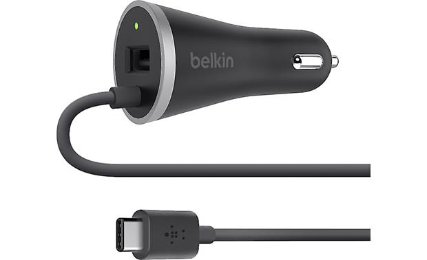 Belkin USB-C™ Car Charger Charge up your USB-C device while on the road