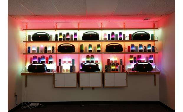JBL Wall of Sound and Light Front