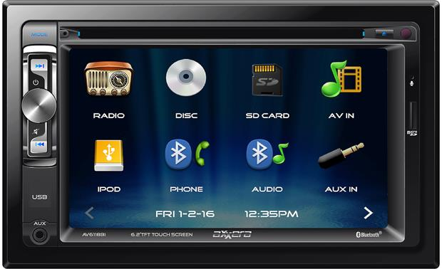 Axxera AV6118Bi Enjoy an easy-to-read display in your car