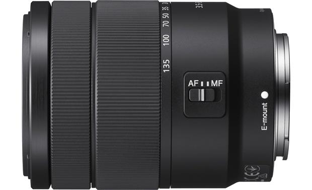 Sony E 18-135mm f/3.5-5.6 OSS Side view