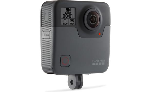 GoPro Fusion 360 Quickly view settings and power information
