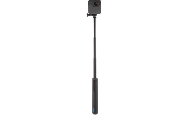 "GoPro Fusion Grip Extend the telescoping sections to create a ""selfie stick"" (camera not included)"