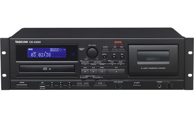 Tascam CD-A580 Front