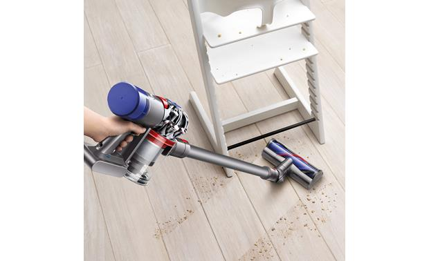 Dyson V7 Animal Works well on hardwood floors