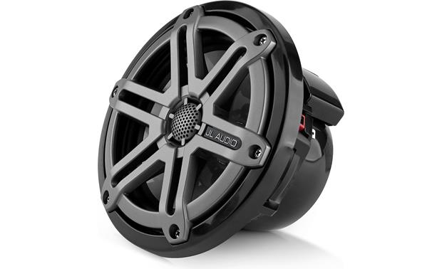 JL Audio M650-CCX-SG-TB Includes 6 grille logo badges (2 Red/ 2 Black/ 2 Titanium)