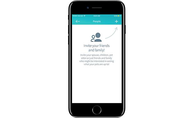 Sure Petcare Hub Share app access with friends and manage their permissions