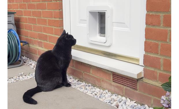 SureFlap Microchip Pet Door Connect Accommodates most cats and small dogs
