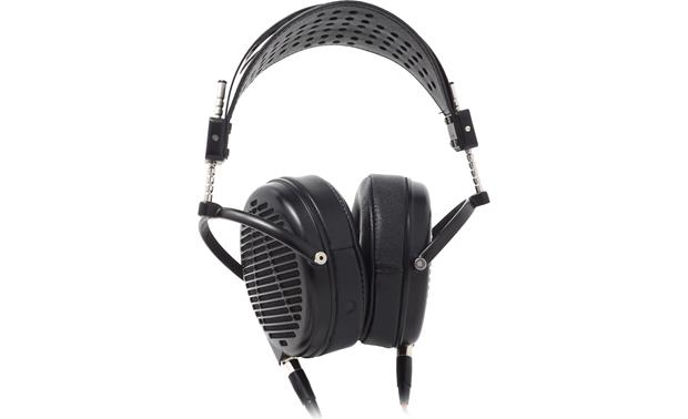 Audeze LCD-MX4 Carbon-fiber and leather headband uses a suspension system