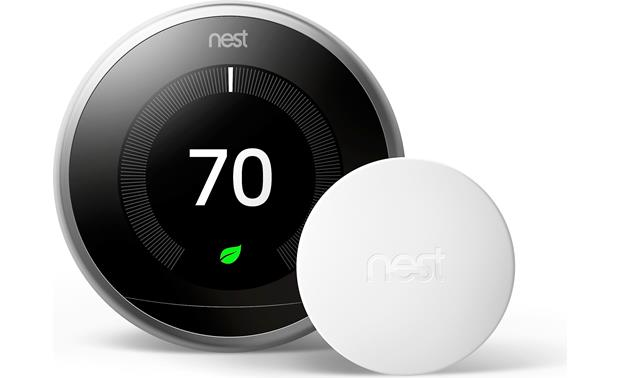 Nest Temperature Sensor Compatible with Nest Learning Thermostat 3rd Generation (not included)