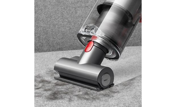 Dyson Cyclone V10 Absolute Included mini motorized tool is great at picking up pet hair