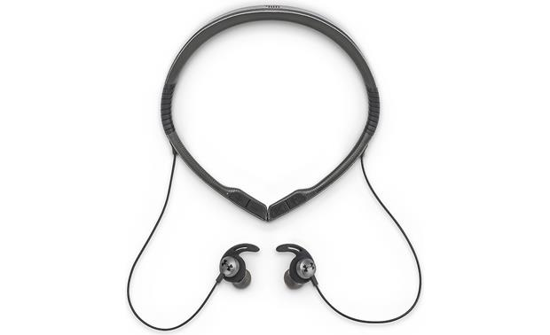 Under Armour® Sport Wireless Flex — Engineered by JBL Adjustable neckband can be worn tight for workouts