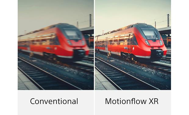 Sony XBR-55A8F Motionflow is one of the most effective and versatile blur-reduction technologies