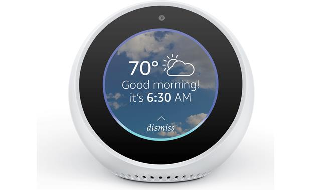 Amazon Echo Spot Set alarm, make video and voice calls, and much more by voice