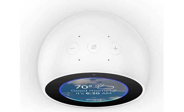 Amazon Echo Spot White Compact Speaker With Alexa Virtual