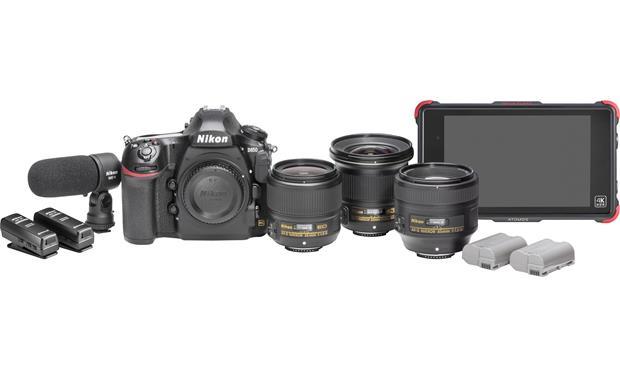 Nikon D850 Filmmaker\'s Kit 45.7-megapixel full-frame sensor DSLR ...