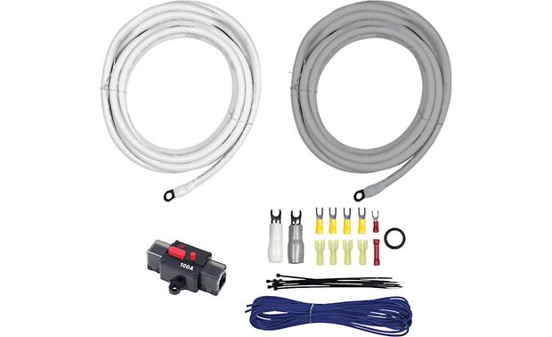 T Spec V10 2041 20 Feet Marine 4 Gauge Amplifier Wiring Kit With