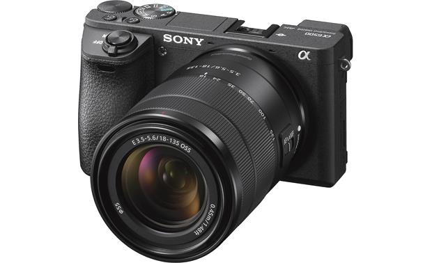 Sony a6500 Telephoto Lens Kit Front