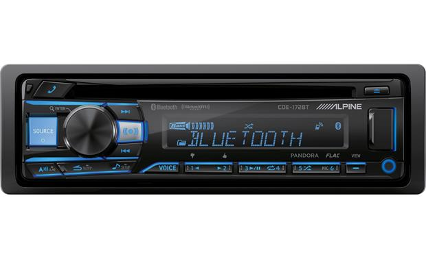 Alpine CDE-172BT This Alpine's equalizer and 24-bit DAC deliver outstanding sound quality