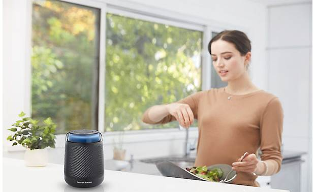 Harman Kardon Allure Portable Voice commands through Amazon Alexa