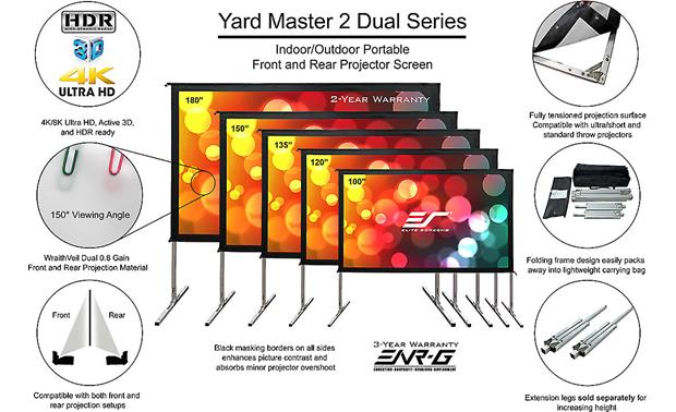 Elite Screens Yard Master 2 Dual