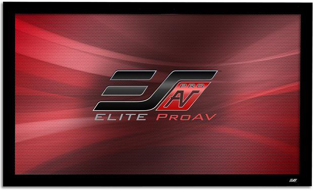 Elite Screens Pro Frame Acoustic Front